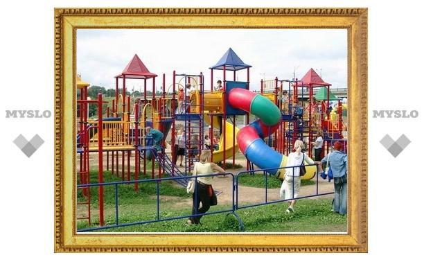 В Тульской области станет на 50 детских площадок больше