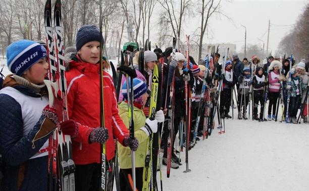 В Новомосковске открылась новая лыжероллерная трасса
