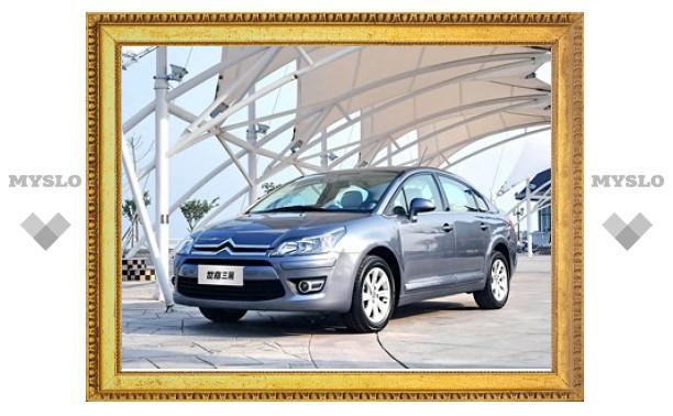 Citroen начнет в России выпуск нового седана в 2013 году