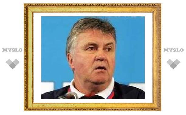 Хиддинк признал поражение в борьбе за путевку на Евро-2008