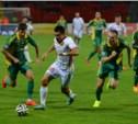 «Арсенал» проиграл «Кубани» со счётом 0:1