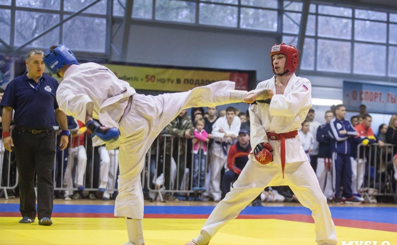 В Туле проходят всероссийские соревнования по рукопашному бою