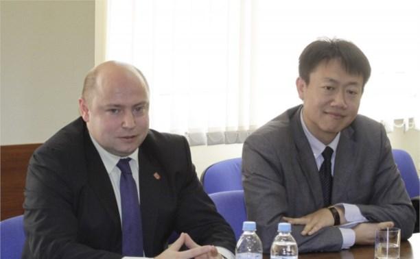 Тульская область будет сотрудничать с крупным станкостроительным холдингом Китая