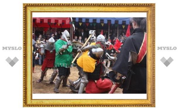 Лучшие рыцари со всей России померялись силой под Тулой