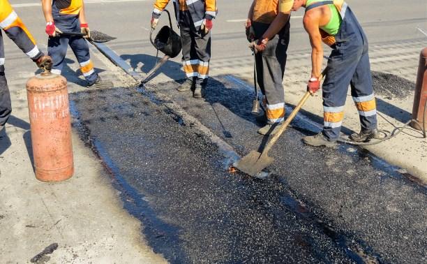 В Туле ремонтируют Зареченский мост