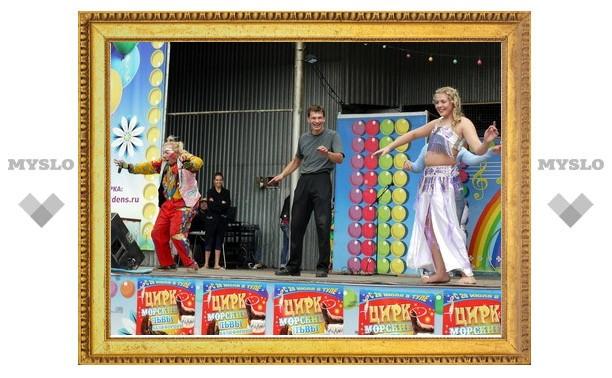Туляков ждут на цирковом представлении в парке