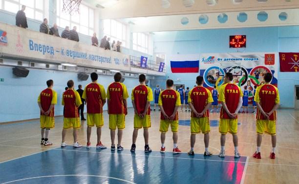 Тульские баскетболисты примут участие в финальном турнире ЦФО