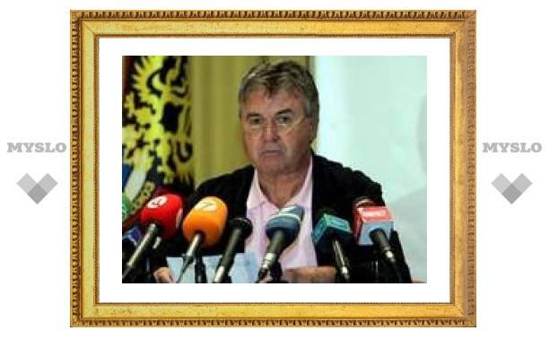 Хиддинк посоветовал Газзаеву посмотреть в зеркало