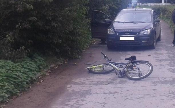 В Новомосковском районе «Форд» наехал на 14-летнего велосипедиста