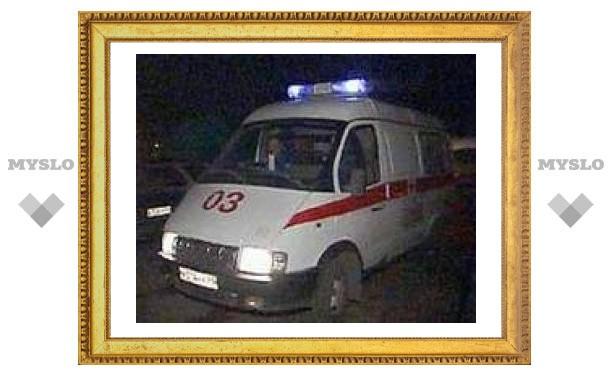 В Тульской области легковушка протаранила автобус