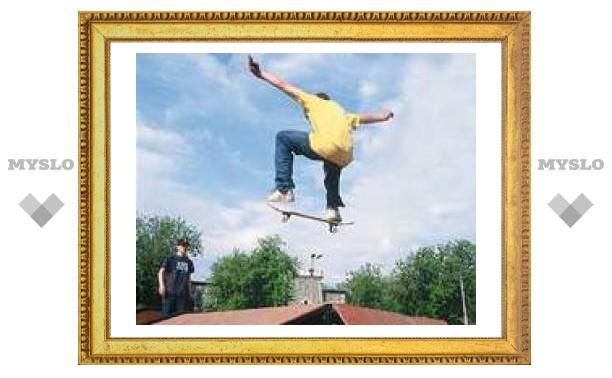 """Скейтеры отмечают """"профессиональный"""" праздник"""