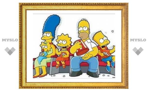 Симпсоны появятся на почтовых марках