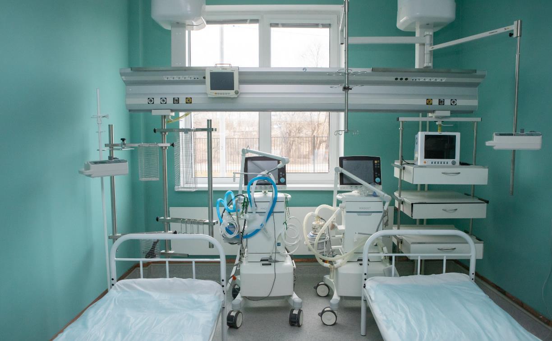 За неделю в Тульской области скончались 56 пациентов с ковидом