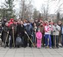 В Туле прошел первый городской субботник в 2015 году