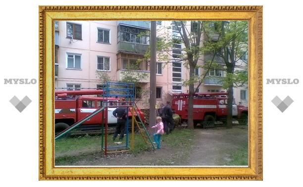 На улице Вознесенского сгорела квартира наркоманов