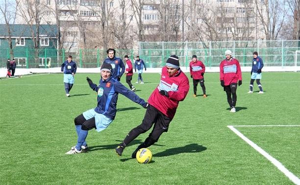 В Туле прошли очередные матчи зимнего футбольного турнира