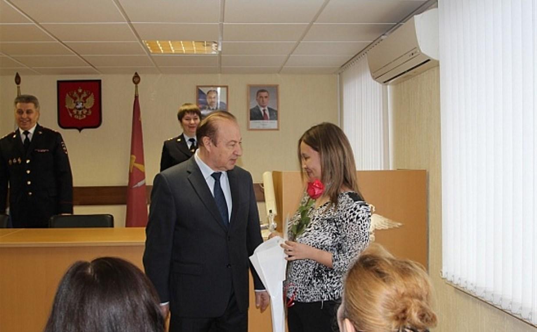 Мэр Тулы Юрий Цкипури поздравил иностранцев с получением российского гражданства