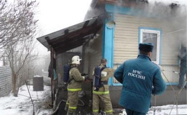В сгоревшем доме на ул. Белкина пожарные обнаружили два трупа