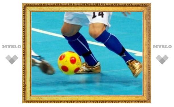 В Туле студенты выявляют сильнейшего в мини-футболе