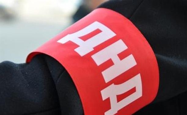 200 народных дружинников охраняют общественный порядок в Туле