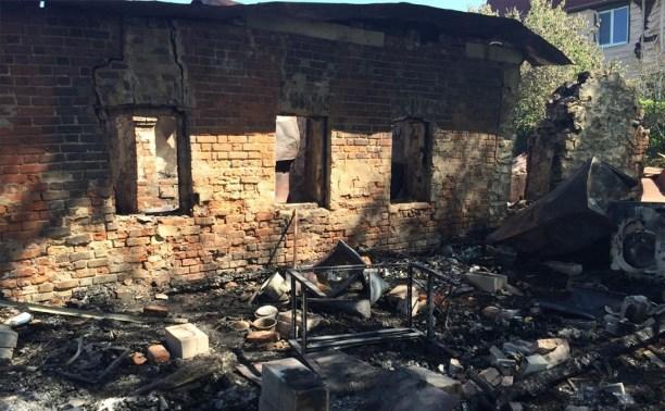 Мужчине, бросившему жену с ребенком в горящем доме, грозит 4 года тюрьмы
