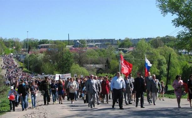 Как отметили День Победы в Тульской области