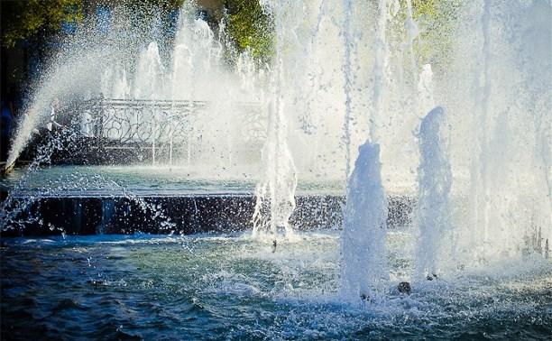 1 мая в Туле запустят пять фонтанов