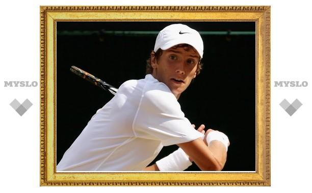 Тульский теннисист выбыл из соревнований в Кубке Кремля