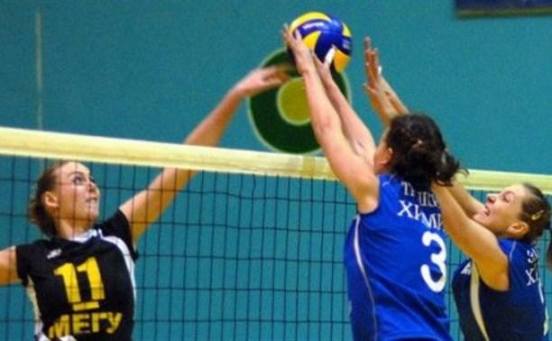 Тулячки оказались вне конкуренции на Кубке ЦФО по волейболу