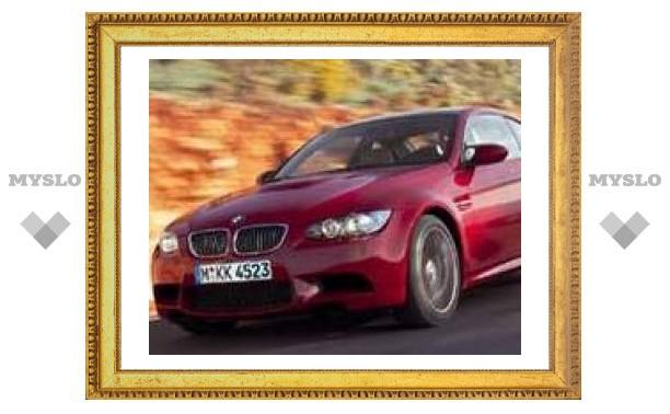 Новая BMW M3: только для мужчин