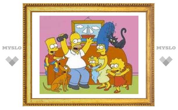 Леше Воробьеву подарили Симпсонов