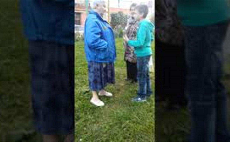 «Корреспонденты хреновы»: в Туле дети снимают на видео конфликт с пенсионеркой