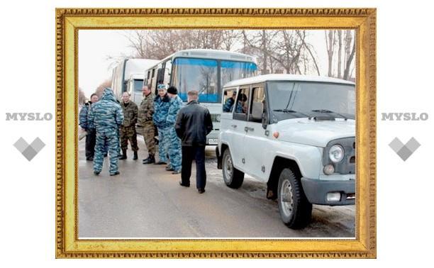 Тульская полиция отправилась в Чечню