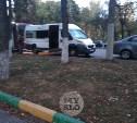 В Туле на улице Кирова произошло двойное ДТП с автобусом и маршруткой