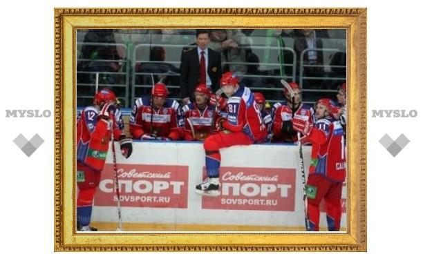 Сборная России по хоккею обыграла команду Финляндии