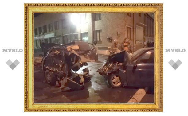 Пьяный водитель в Туле протаранил 3 такси и насмерть сбил пешехода