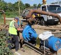 В Мясново ремонтируют канализационный коллектор