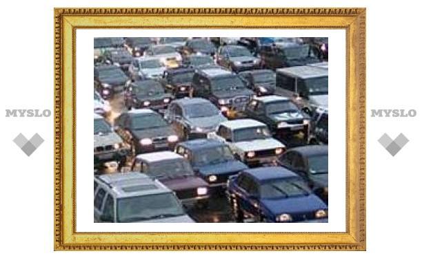 Внимание: пробка на улице Советской