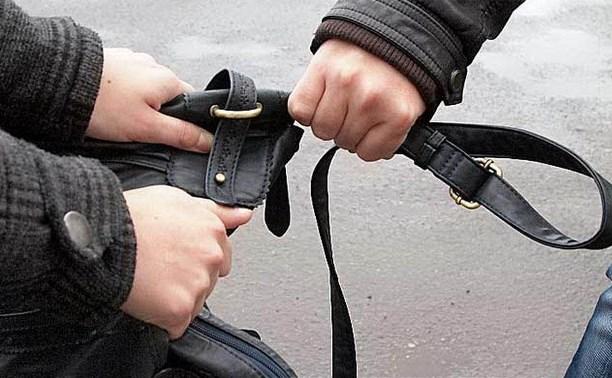 Полицейские Новомосковска «по горячим следам» раскрыли уличный грабёж