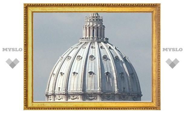 Ученые исследовали купол базилики св. Петра
