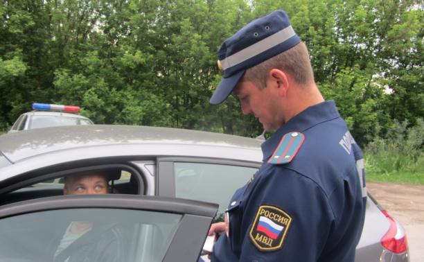 Водителей Тульской области ждет массовая проверка