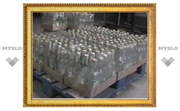 Тульские полицейские борются с незаконной продажей алкоголя