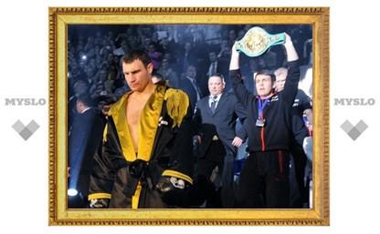 Бой Валуев - Кличко сорвался