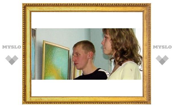 Тульский лицеист открыл свою выставку