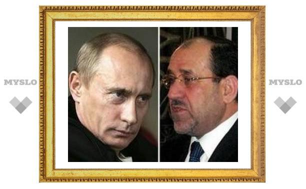 Путин пообещал повысить вклад России в экономику Ирака