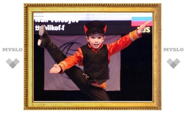 Туляк Ваня Воробьев стал чемпионом мира по танцам