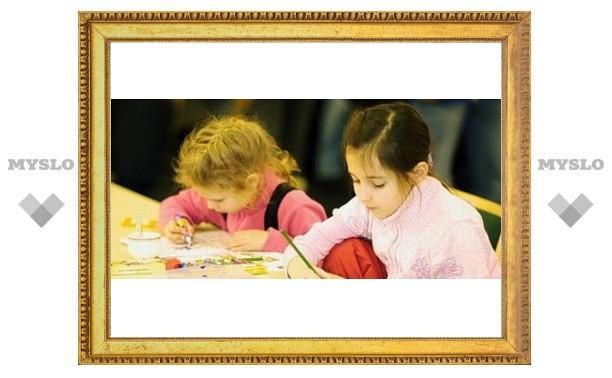 Тульские дети нарисовали новогоднюю марку