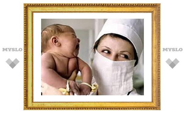 Здоровых детей в Тульской области стало больше