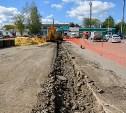 В посёлке Южный стартовали работы по обустройству ливневой канализации