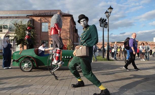 В Туле открылся фестиваль «Театральный дворик»